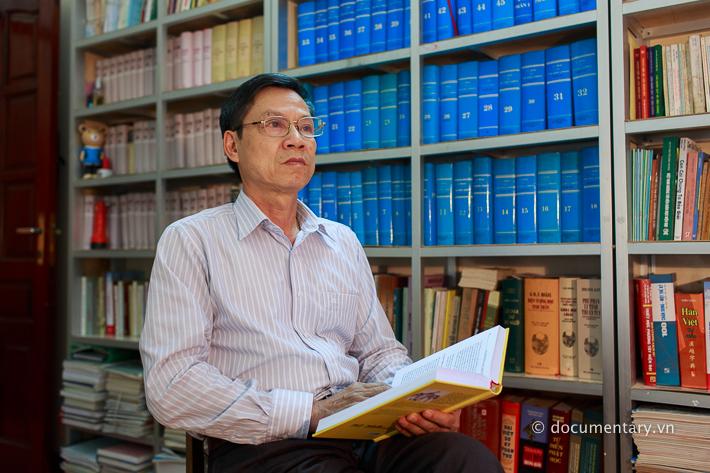 NGƯT Dương Văn Thịnh - giảng viên Khoa Triết học. Hà Nội, tháng 8/2014.