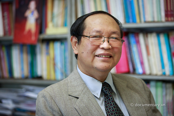 NGƯT Ngô Đăng Tri - giảng viên Khoa Lịch sử. Hà Nội, tháng 8/2014.