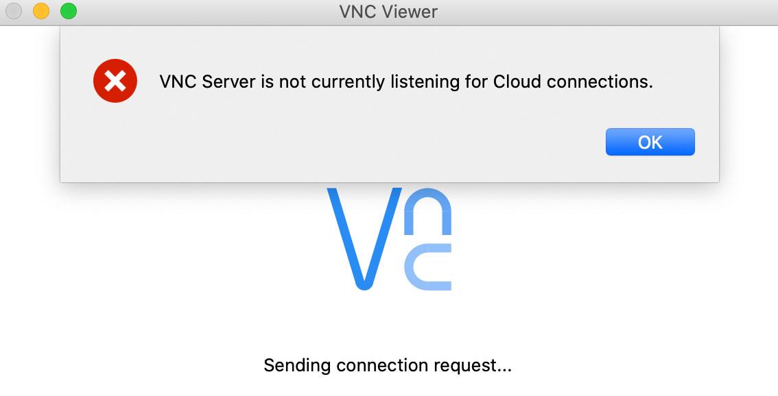 VNC offline
