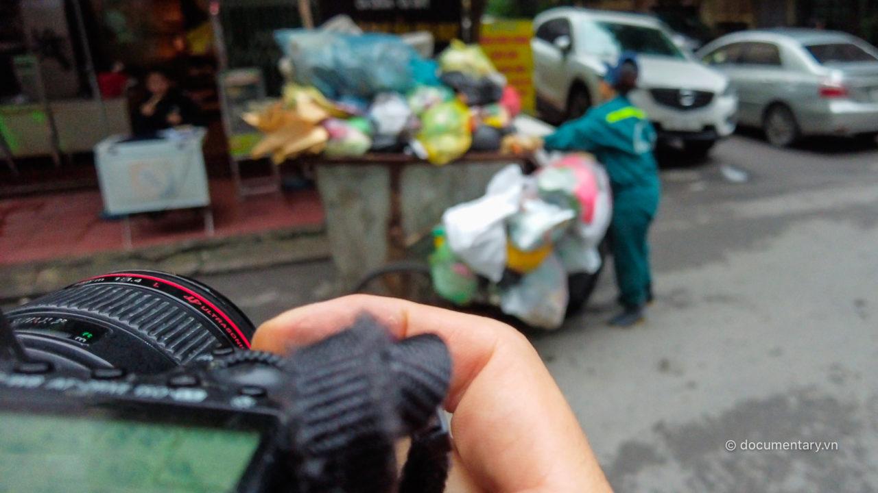 DJI Pocket 2 lấy nét vào ống kính máy ảnh